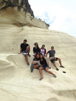 Kapurpurawan rock formation Burgos, Ilocos Norte