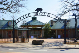 The Entrance To The Little Rock Zoo