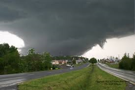 Tornados can be unpredictable in the pathways that they follow