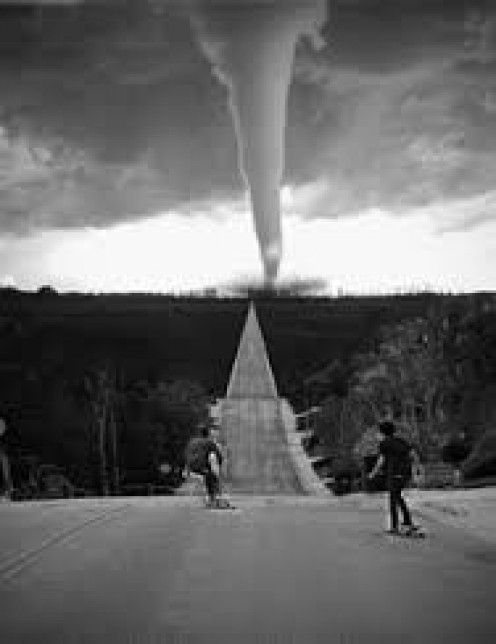 A tornado's image is always overwhelming
