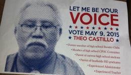 Team candidate, Theo Castillo