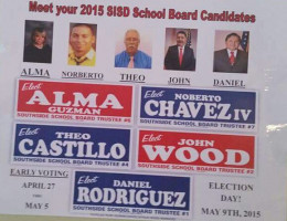 "THE ""TEAM"" RUNS TOGETHER TO RETAIN 7 YES VOTES ON THE SOUTHSIDE ISD BOARD"