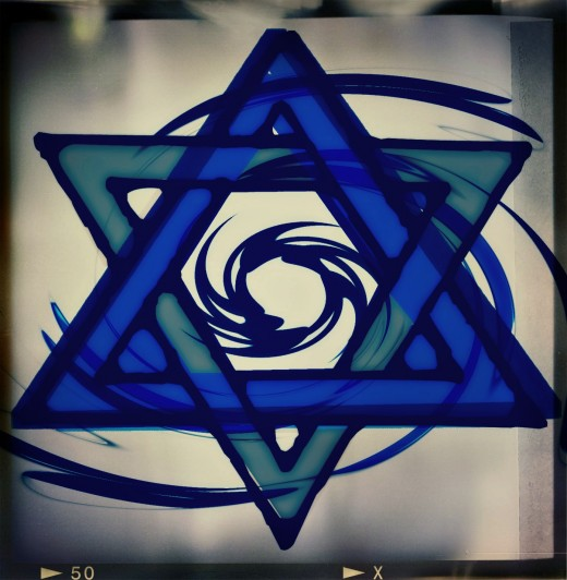 The Star of David~the symbol of the Jewish Community