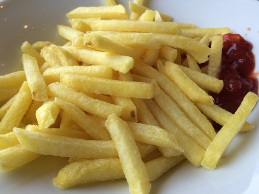 french fries contain much calories | Public Domain by GutundTasty