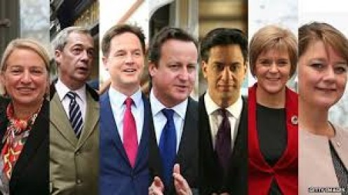 Cameron and Miliband center) and the other fleas for tonight