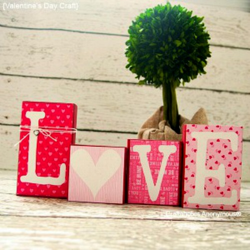 homemade valentine gifts and valentine decorations