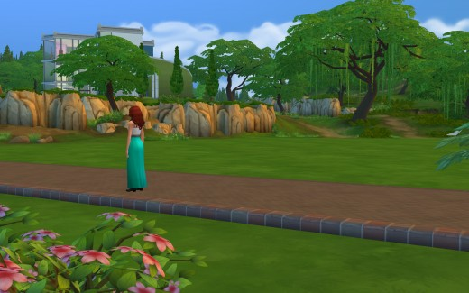 Every official legacy challenge starts on the lawn of a large lot.