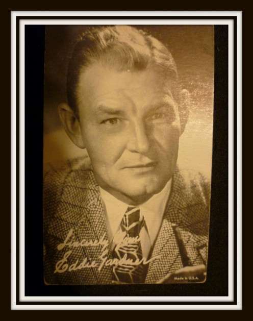 "Movie Card of Eddie ""Ed""Gardner"