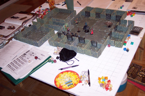 Tabletop Roleplaying Games - One of the most fun ways to spend your time.