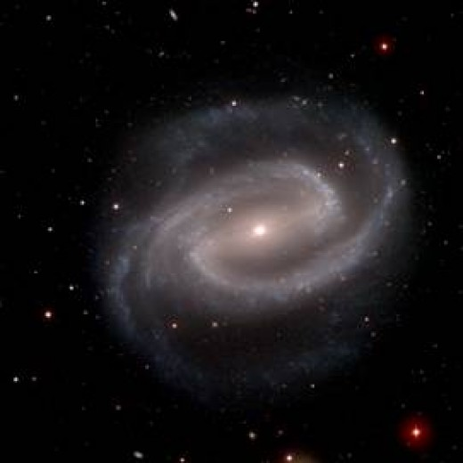 a galaxy in the universe - one of many