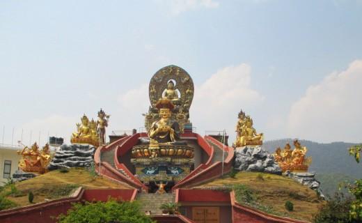 The Buddha and the Bodhisattvas