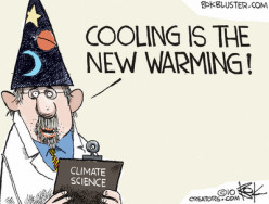 Global warming is a natural trend, we should be worried about climate change
