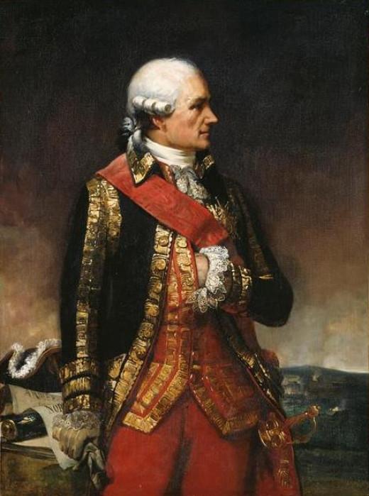 Jean-Baptiste-Donatien de Vimeur, Comte de Rochambeau, Marechal De France (1725-1807)
