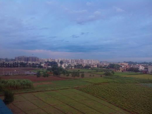 The city of Zirakpur