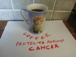 Coffee protects women from cancer of the uterus lining (endometrial cancer)