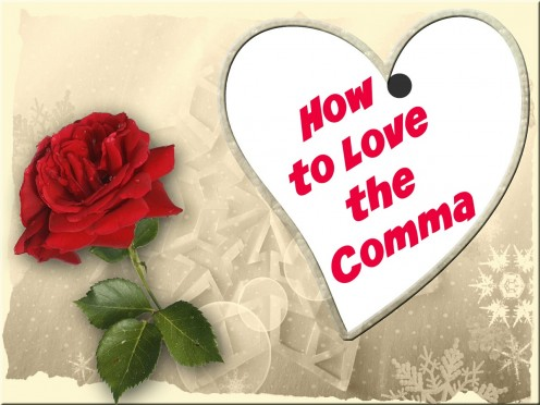 It's time to show commas some love.