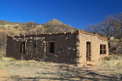 The Assassin loves old adobe dwellings like this