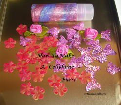 How To Make A Cellphone Or A Lipstick Purse