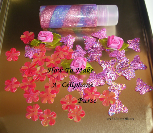 Sequins and Glitters Glue that I used for this craft.