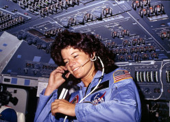 April 4 ,1983: NASA astronaut Sally Ride becomes the first American woman in space. Who are some