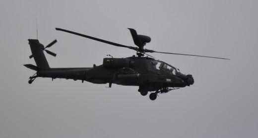 An Apache Helicopter at the 2014 Royal International Air Tattoo, RAF Fairford