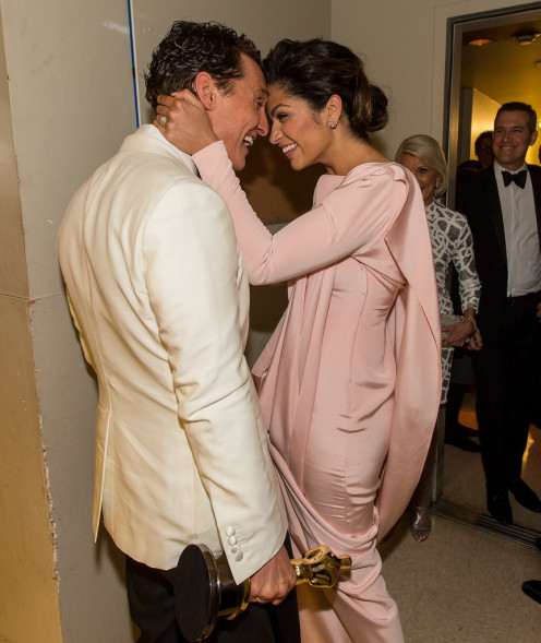Matthew McConaughey and wife, Camila Alves