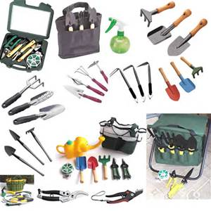 These are examples of the many tools. Do not forget gloves! A canvas tool bag makes transport and organization easier. they do not have to match your shoes!