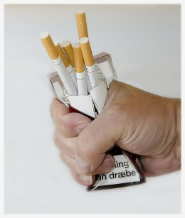 Quit smoking or put yourself at risk of developing a disease called COPD.