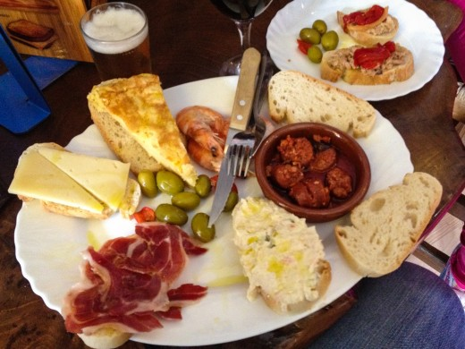 Spanish tapas wonderful food to share with wonderful people