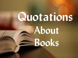 Quotations About Books