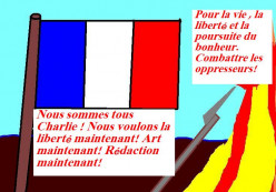 The French fought at least one revolution that involved religious bullying. Nowadays they don't want to fight another such revolution.