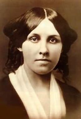 Louisa May Alcott at the age of 25