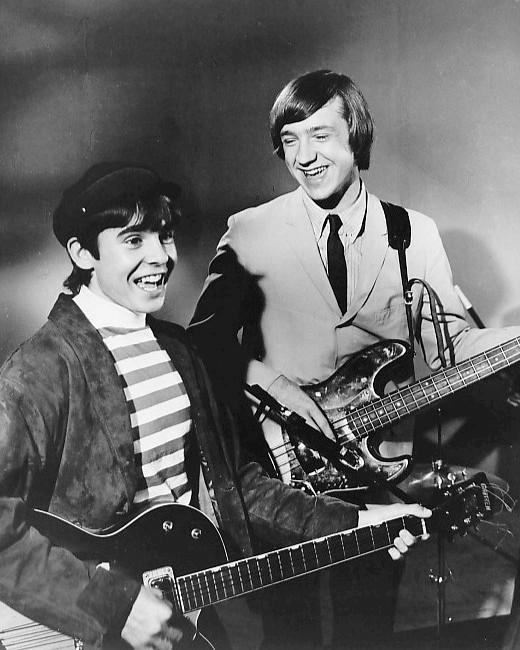 Peter Tork and Davy Jones