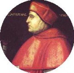 Portait of Cardinal Wolsey