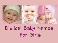Biblical Baby Names for Girls