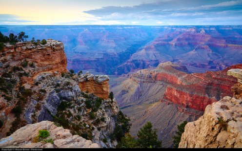 Imagine the repeating sound of your voice echoing through a canyon