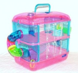 Very suitable fantasy cage for 1-3 mice