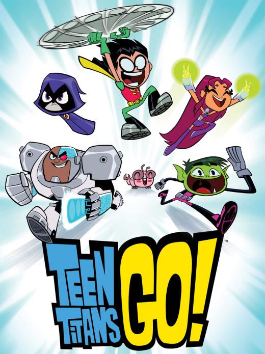 Teen Titans Go on Cartoon Network
