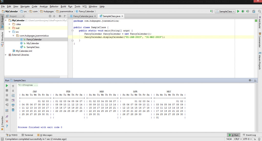 Calendar Design In Java : Part create your own calendar date time library from