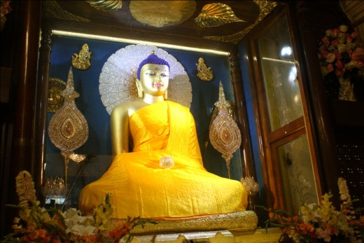 The Buddha was born in Lumbini,Nepal