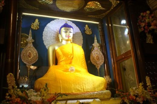 The Buddha was born in Lumbini,Nepal