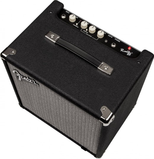 Fender Rumble 25: One of the best bass amps for beginners.