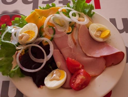 Ham and Egg Salad