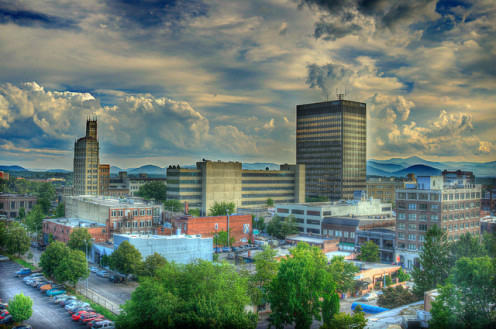 Asheville Downtown (HDR)
