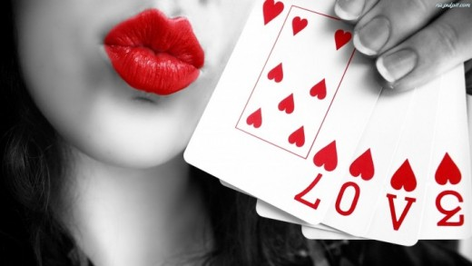 Love is in the cards for you