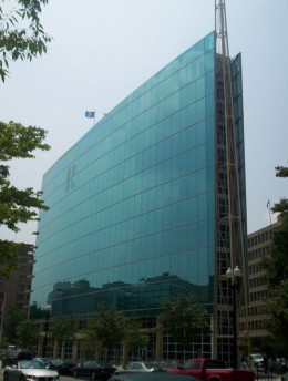 The National Association of REALTORS® building in Washington, DC.