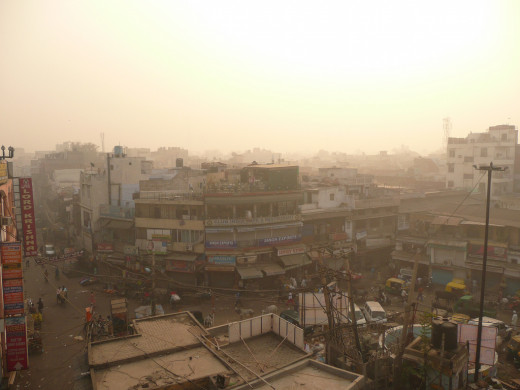 Air pollution of Delhi