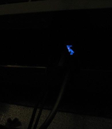 Lit Pilot Light