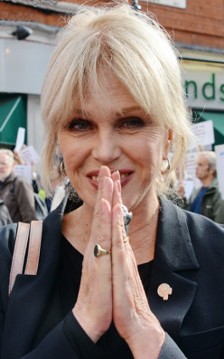 About Joanna Lumley