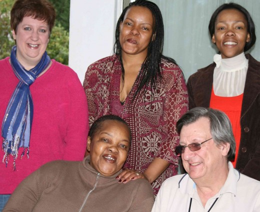Catherine, Vuyo, Nikiwe, Mpumi, Tony